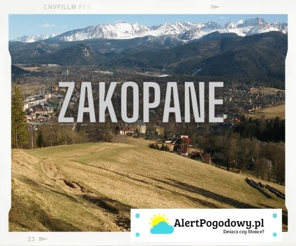 Read more about the article Prognoza pogody – Zakopane