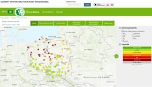 Komunikat GIOŚ z dnia 23.04.2019 r. w sprawie jakości powietrza w Polsce