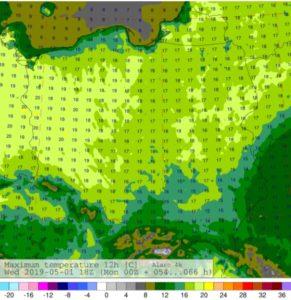 Komunikat prasowy IMGW-PIB: Pogoda na długi weekend majowy