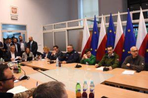 Sztab kryzysowy z udziałem Premiera Morawieckiego