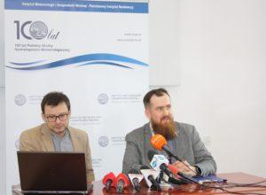 """Komunikat prasowy IMGW-PIB: """"Aktualna i prognozowana sytuacja meteorologiczna i hydrologiczna w Polsce"""""""