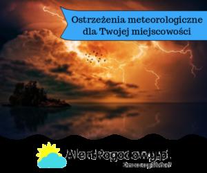 Prognoza pogoda 15.06 – 21.06.2020 r.