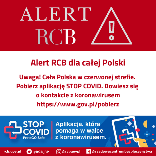 You are currently viewing ALERT RCB: aplikacja STOP COVID