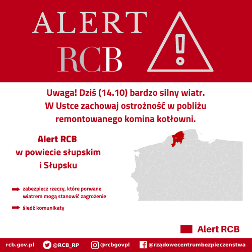 You are currently viewing Alert RCB: Słupsk i powiat słupski