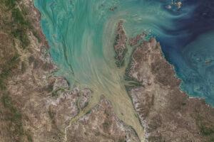 Ogromne przypływy w Broad Sound