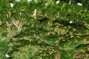 Zagrożenia osuwiskami w Ameryce Środkowej