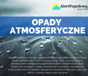 Read more about the article Opady atmosferyczne – infografika