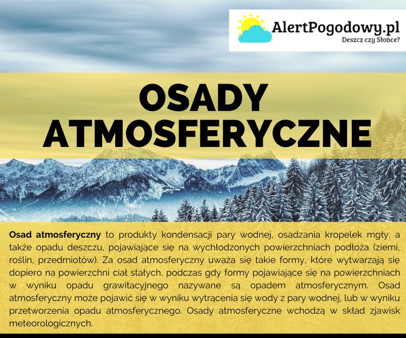 You are currently viewing Osady atmosferyczne – Infografika