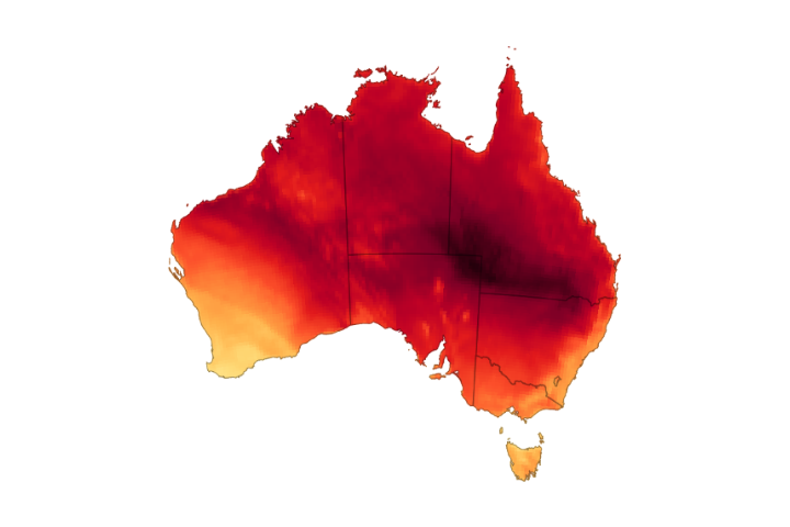 You are currently viewing Rekordowe temperatury w Australii