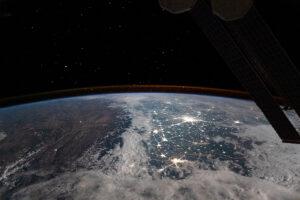 Płaskowyż Tybetański widziany z kosmosu
