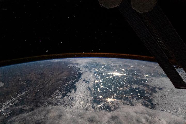 You are currently viewing Płaskowyż Tybetański widziany z kosmosu