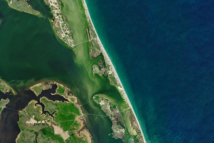 Wyspy barierowe w Karolinie Północnej