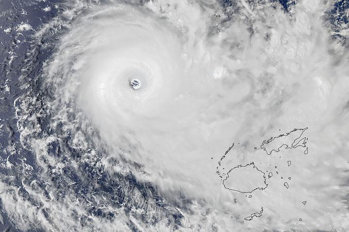 You are currently viewing Cyklon Yasa na Fidżi