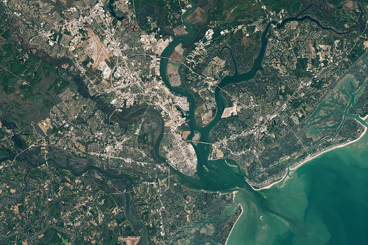 Podnoszenie się poziomu morza w Charleston