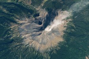 Wybuch z Popocatépetl