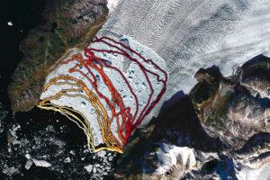 Podcięcie lodowca Sverdrup