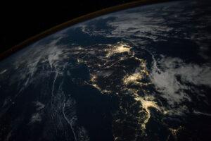 Japonia nocą