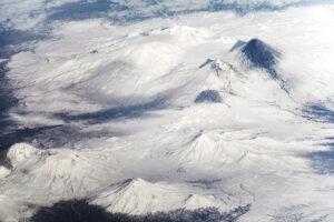 Ślady niedawnej erupcji