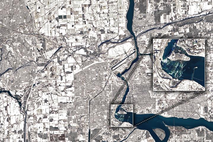 You are currently viewing Zima wzdłuż rzeki Niagara