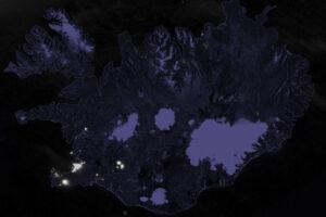 Erupcja wulkanu rozświetla Islandię