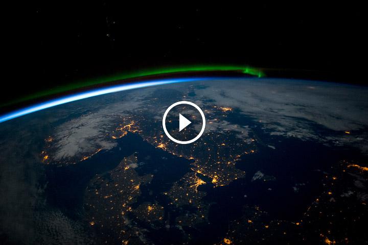 Ziemia widziana ze stacji kosmicznej