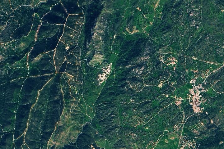 Linia z Hiszpanii do kosmosu