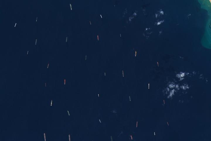 Korki na Kanale Sueskim