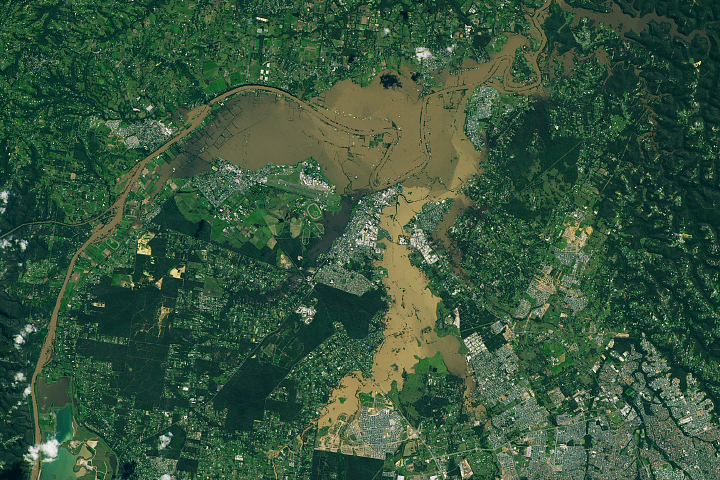 Historyczne powodzie w Nowej Południowej Walii