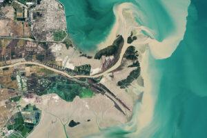 Szybko zmieniająca się delta w Chinach