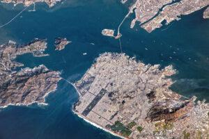 Jasny dzień nad Zatoką San Francisco