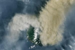 Wybuch w La Soufrière