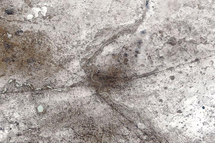 Omsk otrząsa się z zimowego mrozu