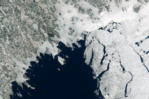 Zatoka Botnicka przed rozpadem lodu