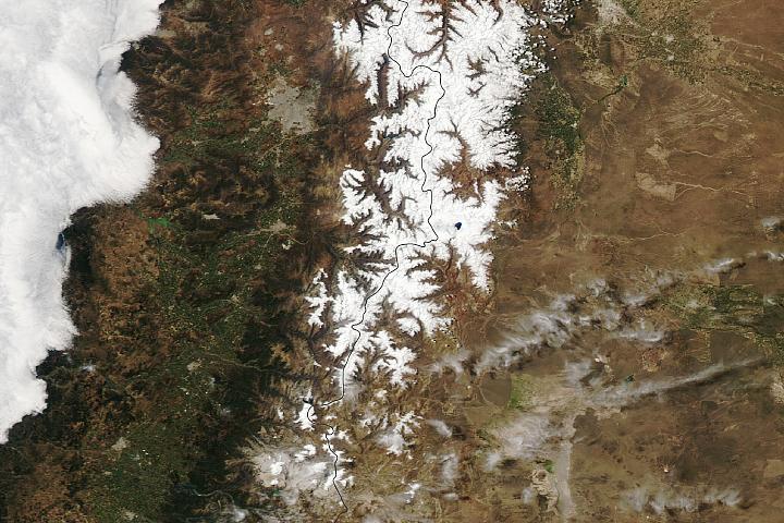 Podwójne burze w Andach