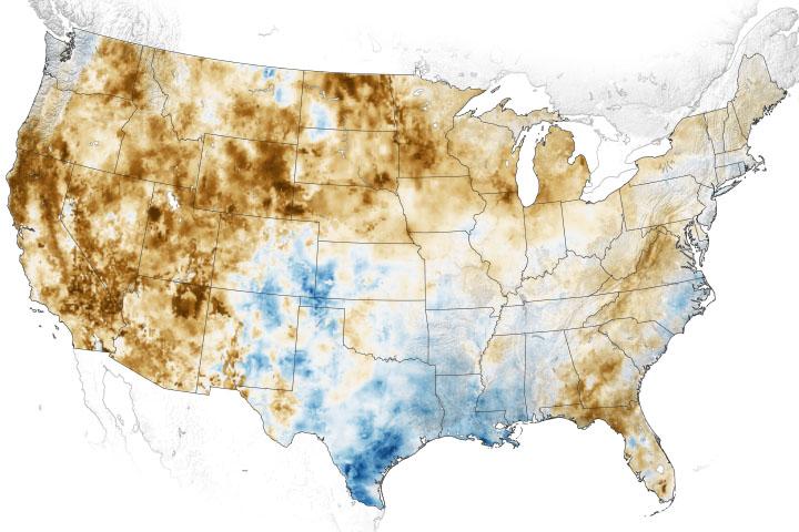 You are currently viewing Zachodnie gleby i rośliny są spieczone