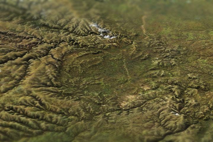 Rosyjski krater diamentów