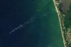Read more about the article Satelita obserwuje pożar statku u wybrzeży Sri Lanki