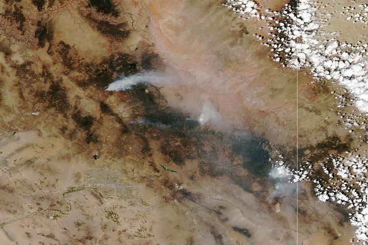 You are currently viewing Szał pożarów w Arizonie