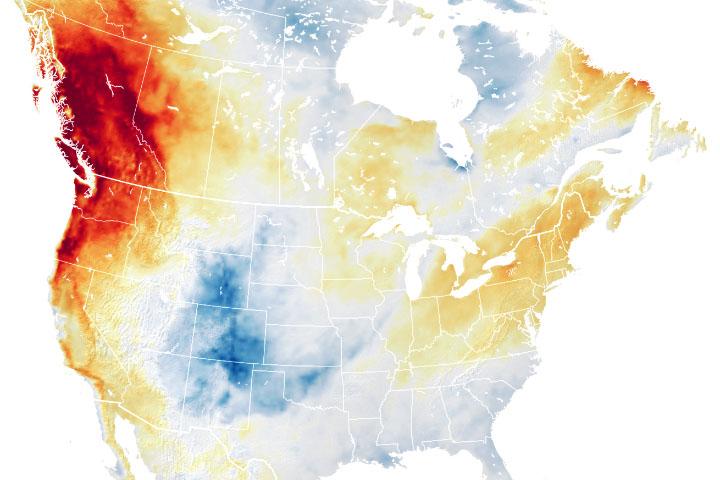 You are currently viewing Wyjątkowe upały uderzają w północno-zachodni Pacyfik