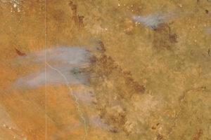 Read more about the article Szybko poruszający się pożar w Kgalagadi