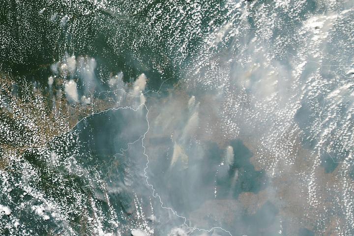 You are currently viewing Zadymione niebo w zachodniej Amazonii